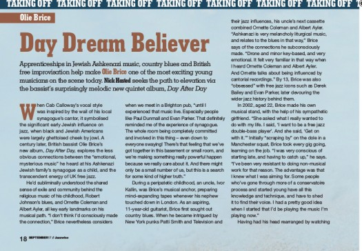 jazzwise interview 1